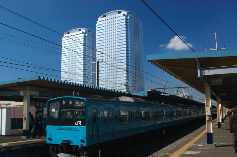 東京行きの電車