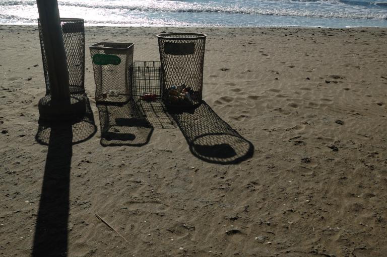 29日の稲毛海岸