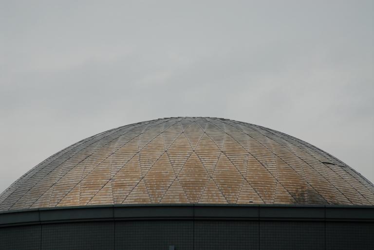 ドーム型の屋根