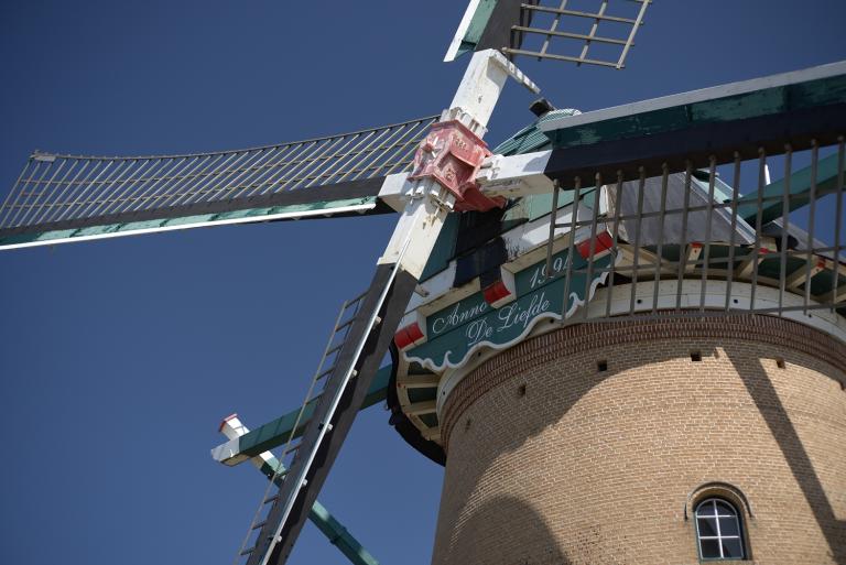オランダ風車「リーフデ」