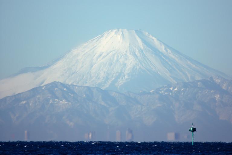 見た? 富士山