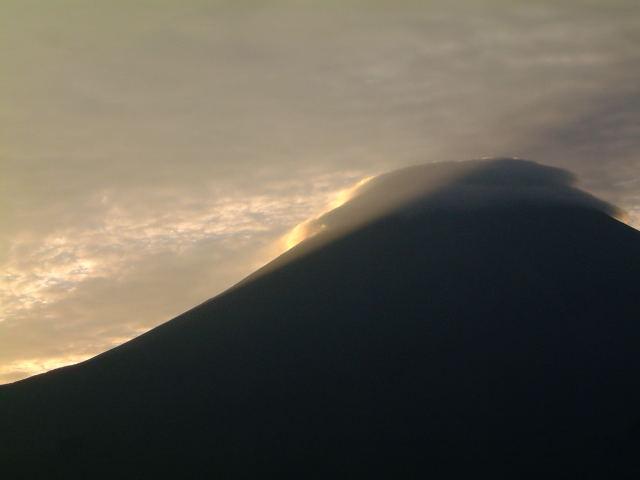 富士山(長時間露光でバッテリーが・・)