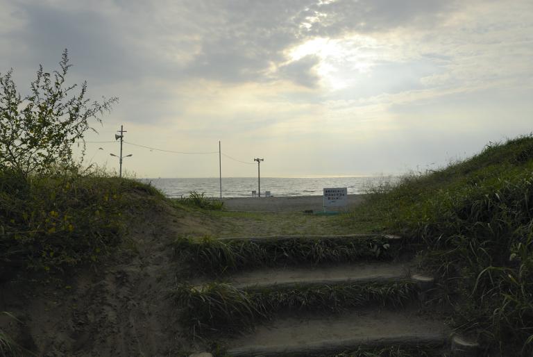 10月11日午後3時 幕張海岸