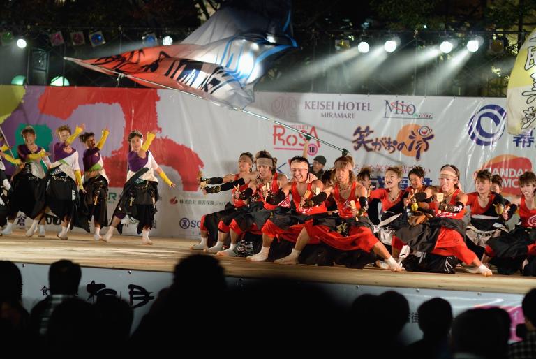 ちばYOSAKOI 2007 10月28日最終ステージ(千葉中央公園) 2/2