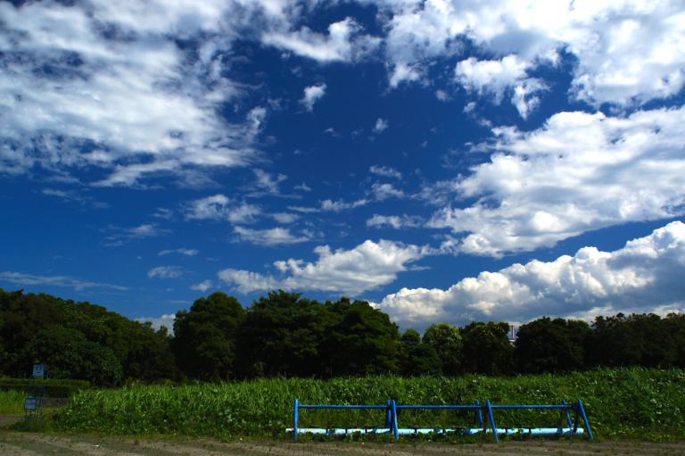 sky of July II