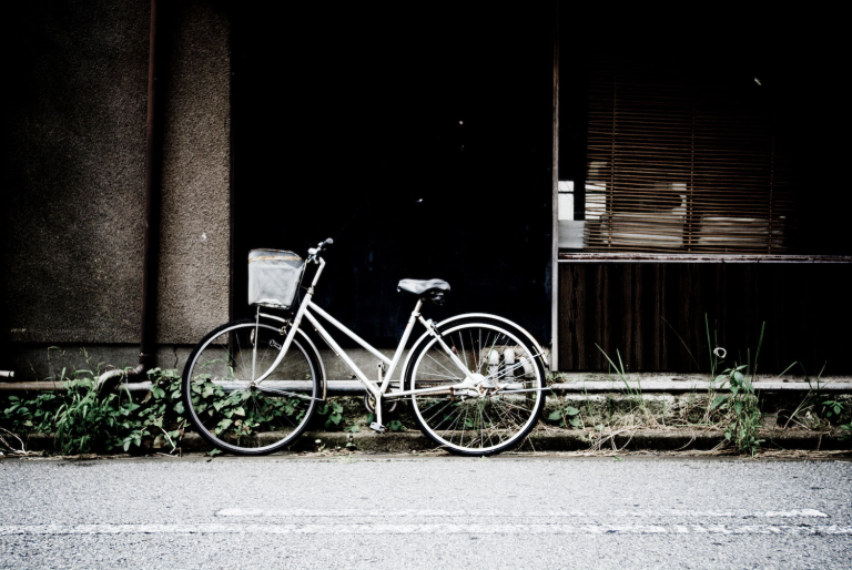 be react (to bicycle)